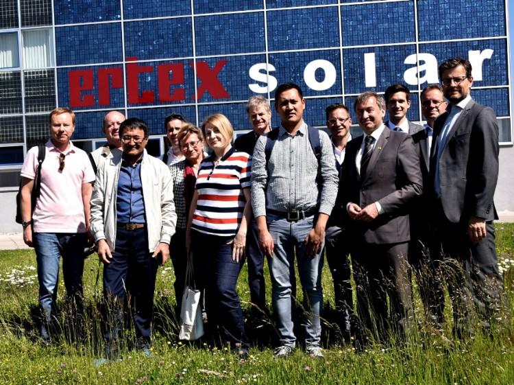 Delegation aus Kasachkstan