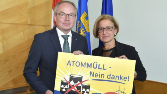 Landeshauptfrau Johanna Mikl-Leitner und LH-Stellvertreter Stephan Pernkopf