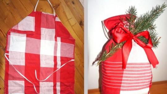 Kochschürze und Nikolaussackerl