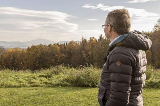 LH-Stellvertreter Stephan Pernkopf mit Blick auf den Ötscher